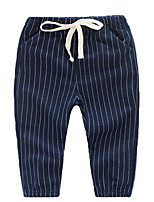 Boy Casual/Daily Striped Pants-Cotton Spring / Fall