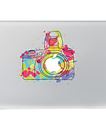Colored Drawing Camera Decorative Skin Sticker for MacBook Air/Pro/Pro with Retina