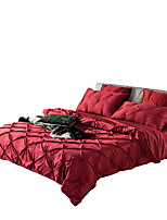 Bedtoppings Silk Cotton Duvet cover 6 pcs set Hand-made King size