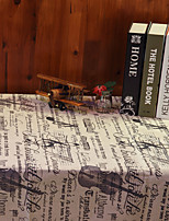 Obdélníkový Se vzorem Ubrusy , Lněný Materiál Hotel Jídelní stůl / Tabulka Dceoration / Výzdoba domácnosti