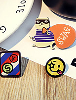 1 Set Cute Hello Smile Dog Pin Brooch Set Fashion Jewelry for Men/Women(Random Style)