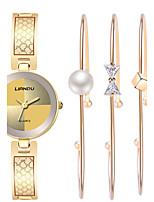 Watch Women Fashion Titanium Steel Bracelet Watch Set Ak Style Clock Gold Watch Relogio Feminino Montres Femme