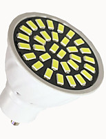6W GU10 LED Spotlight 32 SMD 5733 500-700 lm Warm White / Cool White AC 110V/ AC 220V
