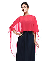 Women's Wrap Shrugs Chiffon Wedding / Party/Evening