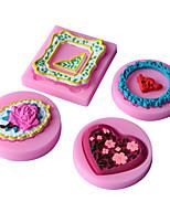 1 Silikon pečicí formy pro Cake / pro Pie / pro Pizza / Other / pro Ice / pro Chocolate / pro chléb / pro Cookie / pro CupcakeVysoká