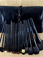 18 Makeup Brushes Set Horse Professional / Portable / Full Coverage / Horse Hair Wood Others