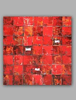 Handgemalte Abstrakt / Landschaft Ölgemälde,Modern / Klassisch Ein Panel Leinwand Hang-Ölgemälde For Haus Dekoration