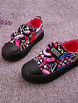 Boy's Sneakers Spring / Summer / Fall Others / Comfort Canvas Outdoor / Casual Flat Heel Others / Magic Tape Black / Pink Others