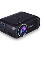 EC-X7 Portable 1080P High-Definition Small Household Mini-LED Projector