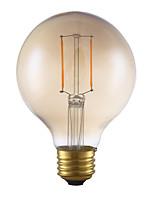 2W E26 LED Filament Bulbs G25 2 COB 180 lm Warm White Dimmable 120V 1 pcs