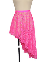 Latin Dance Skirts Women's / Children's Performance Nylon / Lace / Lycra Lace 1 Piece Skirt