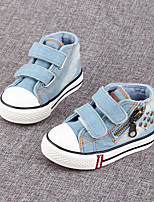 Boy's Sneakers Spring Fall Comfort Canvas Casual Blue
