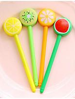 леденец фрукты гелевая ручка (12шт)