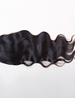 Brazilian lace closure 3.5*4 Brazilian virgin hair closure Body Wave middle part free part 2 options 10 to 24 inch