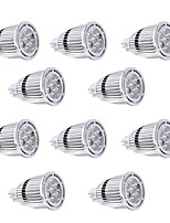 10Pcs YWXLight® MR16 7W SMD 3030 650-700 LM Warm White / Cool White LED Spotlight AC/DC 12V