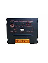 MPPT controlador de compensación de temperatura de la batería del USB del regulador automático de carga solar 12 / 24v 20a con protecciones completas