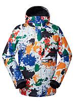 GSOU NEIGE® Tenue de Ski Anorak pour Ski/snowboard Homme Tenue d'Hiver Polyester Vêtement d'HiverEtanche / Respirable / Garder au chaud /