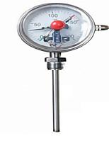 Wssx-411 Shock-Resistant Stainless Steel Bimetal Thermometer Electrical Contacts