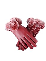 (Note - rouge) ms gants PU
