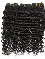 3 Bundles Brazilian Virgin Remy Hair Deep Wave Human Hair Weave Extensions 300g