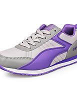 Розовый / Фиолетовый / Темно-красный-Женский-На каждый день-Тюль-На плоской подошве-Удобная обувь-Кеды