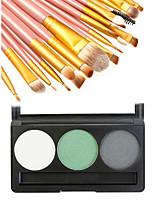 ТениКисти для макияжа влажный Глаза Цветной глянец / Стойкий / Консилер China Другое