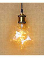 2W E26/E27 LED Globe Bulbs B 20 Dip LED 1120 lm Warm White Decorative V 1 pcs