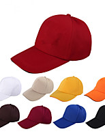 Pure color blank baseball hat Shade is prevented bask in a baseball cap Breathable / Comfortable Unisex BaseballSports