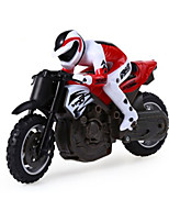 Huanqi 2.4GHz Mini Telecontrol Motorcycle Toy - RED WITH BLACK