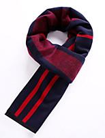 Masculino Lenço Vintage / Trabalho / Casual Misto de Lã Masculino