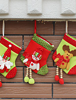 3cover) (différents styles) ornement maison newfangled décorations de Noël bas de noël