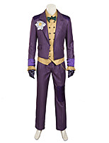 Cosplay Costumes /   Agam asylum Clown Costume cosplay/Halloween Costumes Custom Made