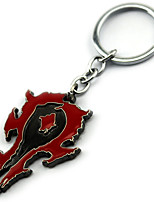 Inspired by WOW Anime Cosplay Accessories Keychain Red Alloy
