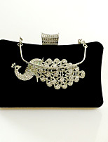 Women Velvet Formal / Event/Party / Wedding Evening Bag/Velvet Diamonds Bag/Purse/Clutch/A Bird of Juno