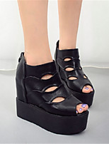 Women's Sandals Others PU Casual Black / White