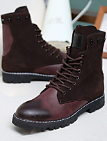 Men's Boots Others PU Casual Black Brown