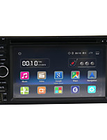 quad core android 5.1.1 universal bilradio hd 1024 * 600 opløsning 6.2 '' gps navigation / wifi / fm / bt