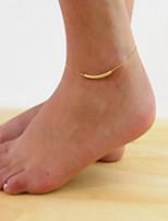 женщина серебряный сплав кружева U трубки застежкой омар ножной