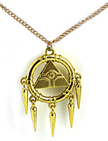 Inspired by Yu Gi Oh Yugi Muto Anime Cosplay Accessories Necklace Golden Alloy