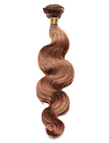 1PC TRES JOLIE Body Wave Human Hair 10-18Inch Medium Auburn Color 30 Human Hair Weaves