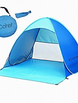 iCorer 2 persons Tent Double Automatic Tent One Room Camping Tent <1000mm NylonUltraviolet Resistant Well-ventilated Ultra Light(UL)