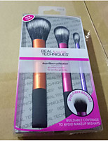 3 Contour Brush / Brow Brush / Foundation Brush Synthetic Hair Professional / Synthetic / Portable Face / Eye Others