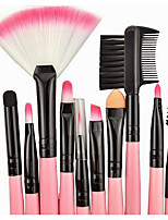 24 Other Brush Synthetic Hair Professional / Full Coverage / Synthetic / Portable Plastic Face / Eye / Lip Others