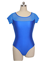 Ballet Leotards Women's / Children's Training Nylon / Lycra 1 Piece Short Sleeve Leotard