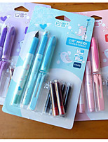 Snow In Capsule PenTwo Pens Four Blue Ink Sac Two Red Ink Sac