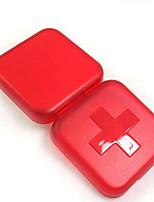 корейское творческие наборы для обустройства дома хранения моды портативный крест четыре случая уплотнение пластиковая коробка