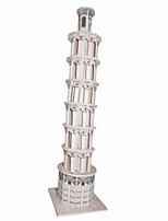 Jigsaw Puzzles Wooden Puzzles Building Blocks DIY Toys The Leaning Tower of Pisa1 Wood Ivory Model & Building Toy