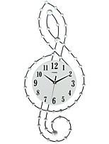 Moderne/Contemporain Niches Horloge murale,Autres Acrylique / Verre / Métal 30*75CM Intérieur Horloge