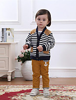 Girl Casual/Daily / Sports / Holiday Striped Sets,Cotton Summer / Spring / Fall Clothing Set