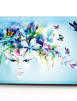 Creative Flower Girl Pattern MacBook Computer Case For MacBook Air11/13 Pro13/15 Pro with Retina13/15 MacBook12